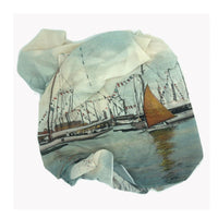 Yachts in Harbor Scarf