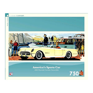 America's Sports Car, 750 Piece Puzzle