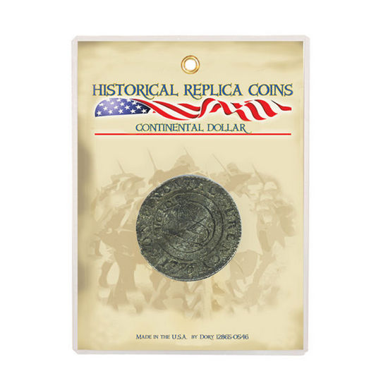 Reproduction Continental Dollar Coin