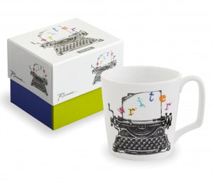 Arts and Letters, WRITER Mug
