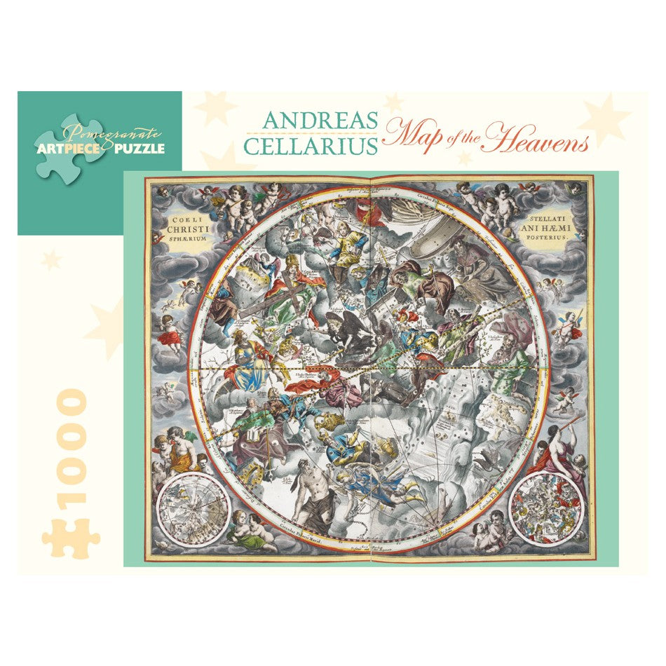 Map of the Heavens, 1000 Piece Puzzle