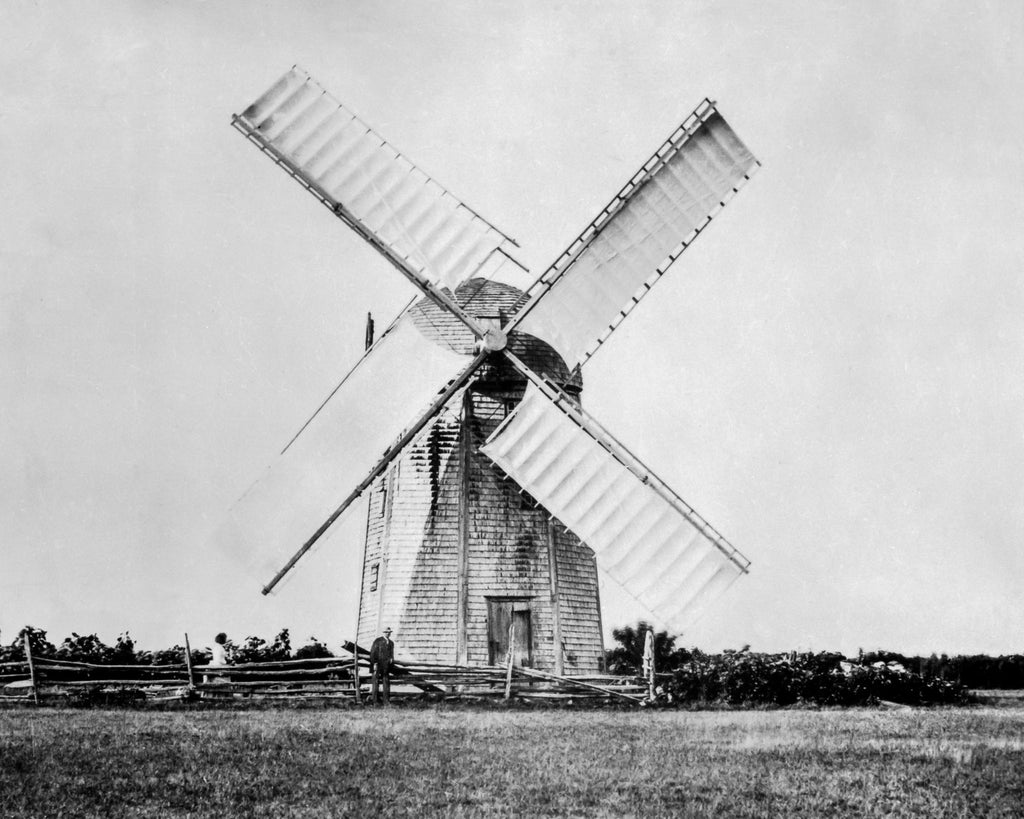 Jamestown's Windmill c. 1895-1905