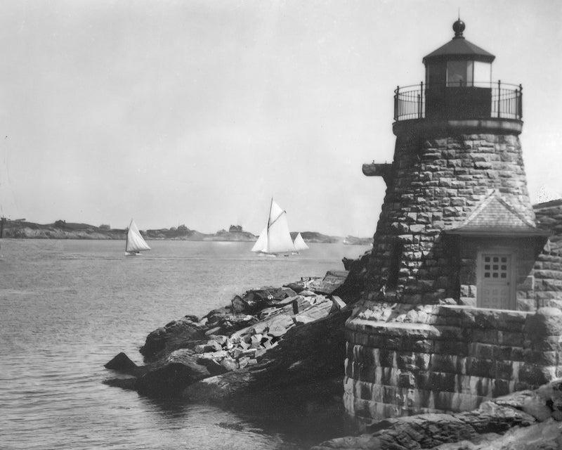 Castle Hill Lighthouse c.1895