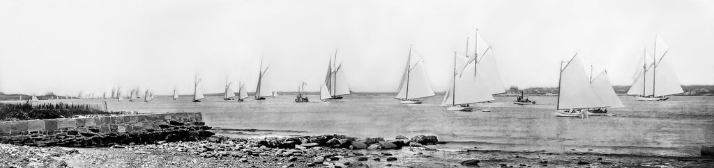 Regatta on Narragansett Bay c. 1910