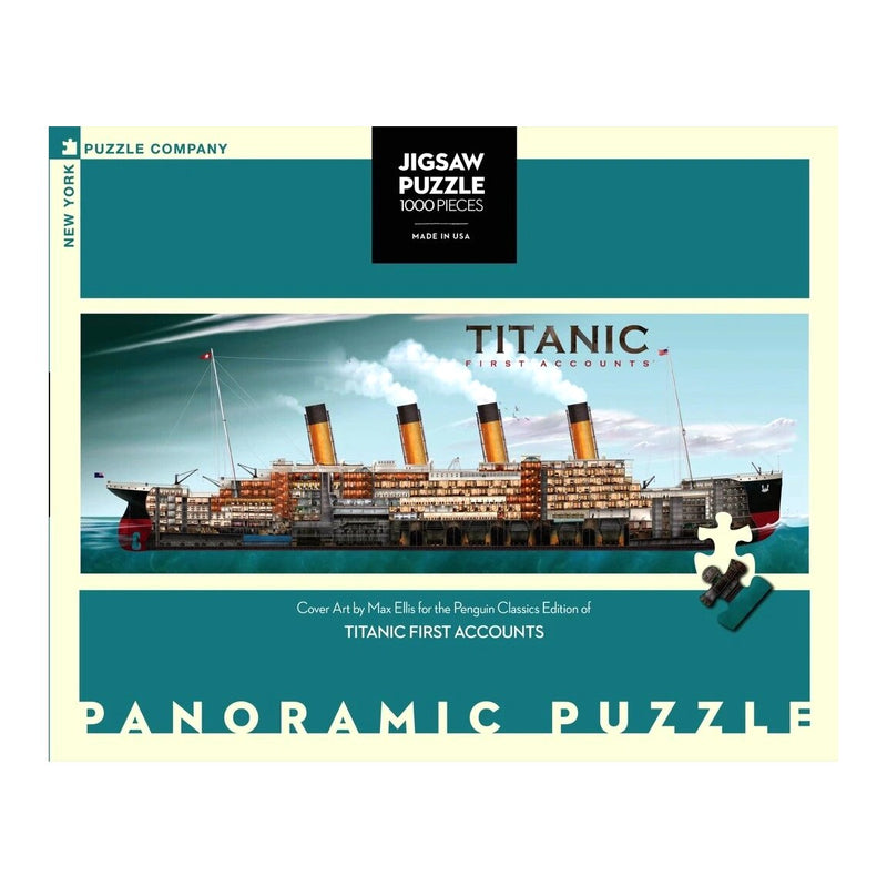 Titanic First Accounts, 1000 Piece Puzzle
