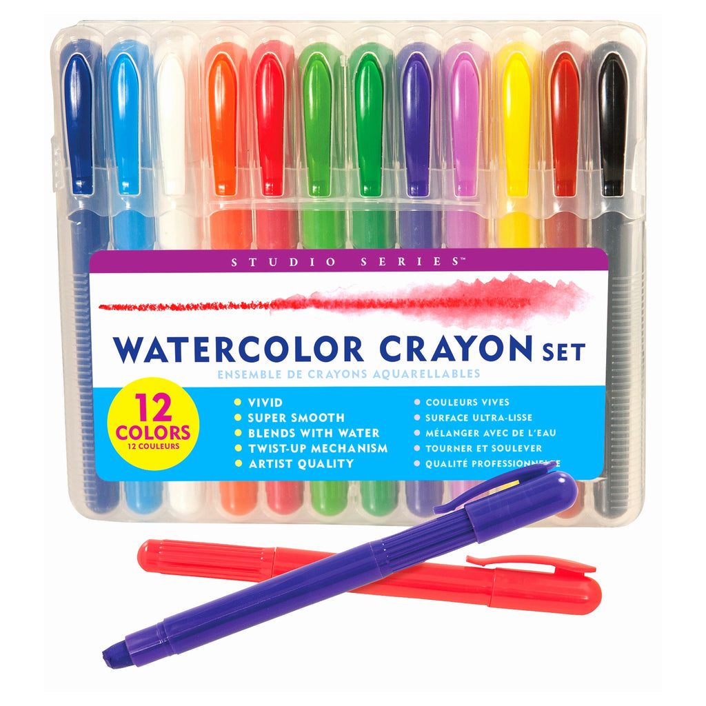 Watercolor Crayon Set