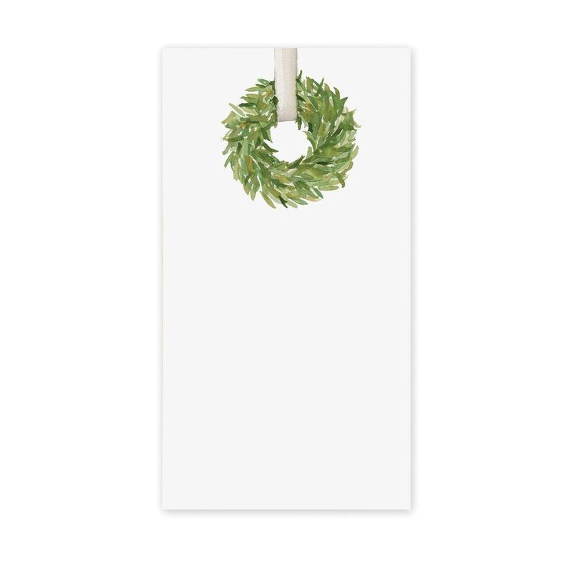 Classic Wreath Notepad