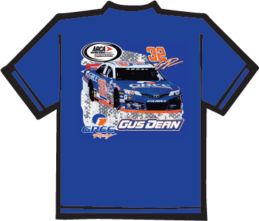 Gree Blue Racing  T-shirt