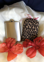 Cheetah Wine Bottle or Flask Cover