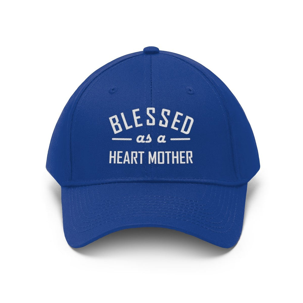 Blessed as a Heart Mother Twill Hat