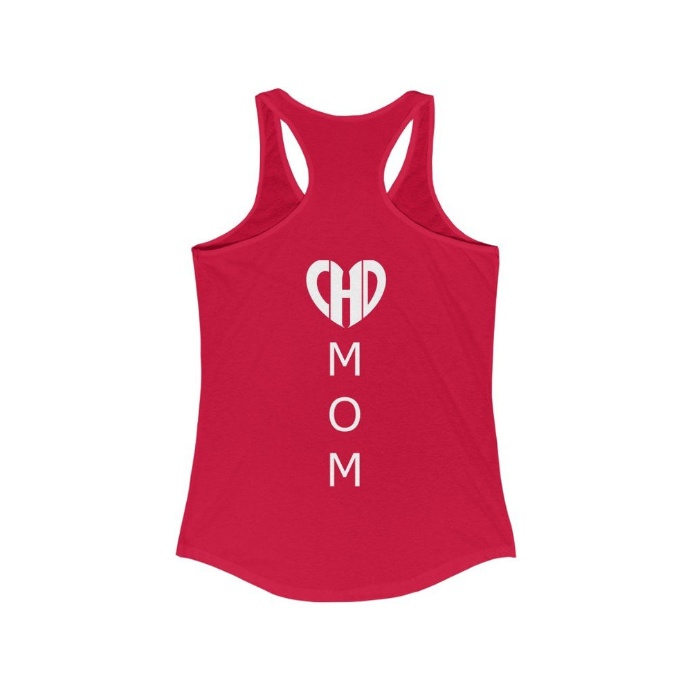 CHD Mom Slim Fit Racerback Tank
