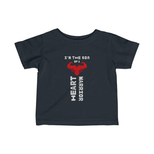 Infant Son of a Heart Warrior Tee