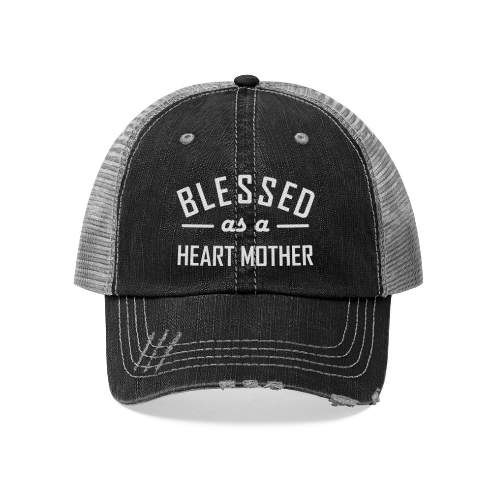 Blessed as a Heart Mother Trucker Hat