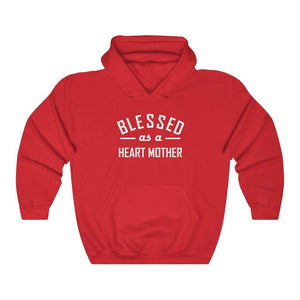 Blessed as a Heart Mother Hoodie