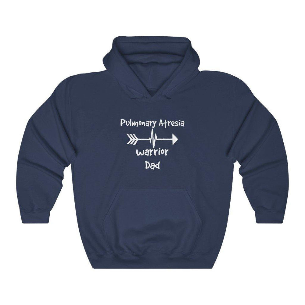 Pulmonary Atresia Warrior Dad Hoodie