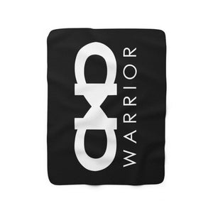 Forever A Warrior Fleece Blanket