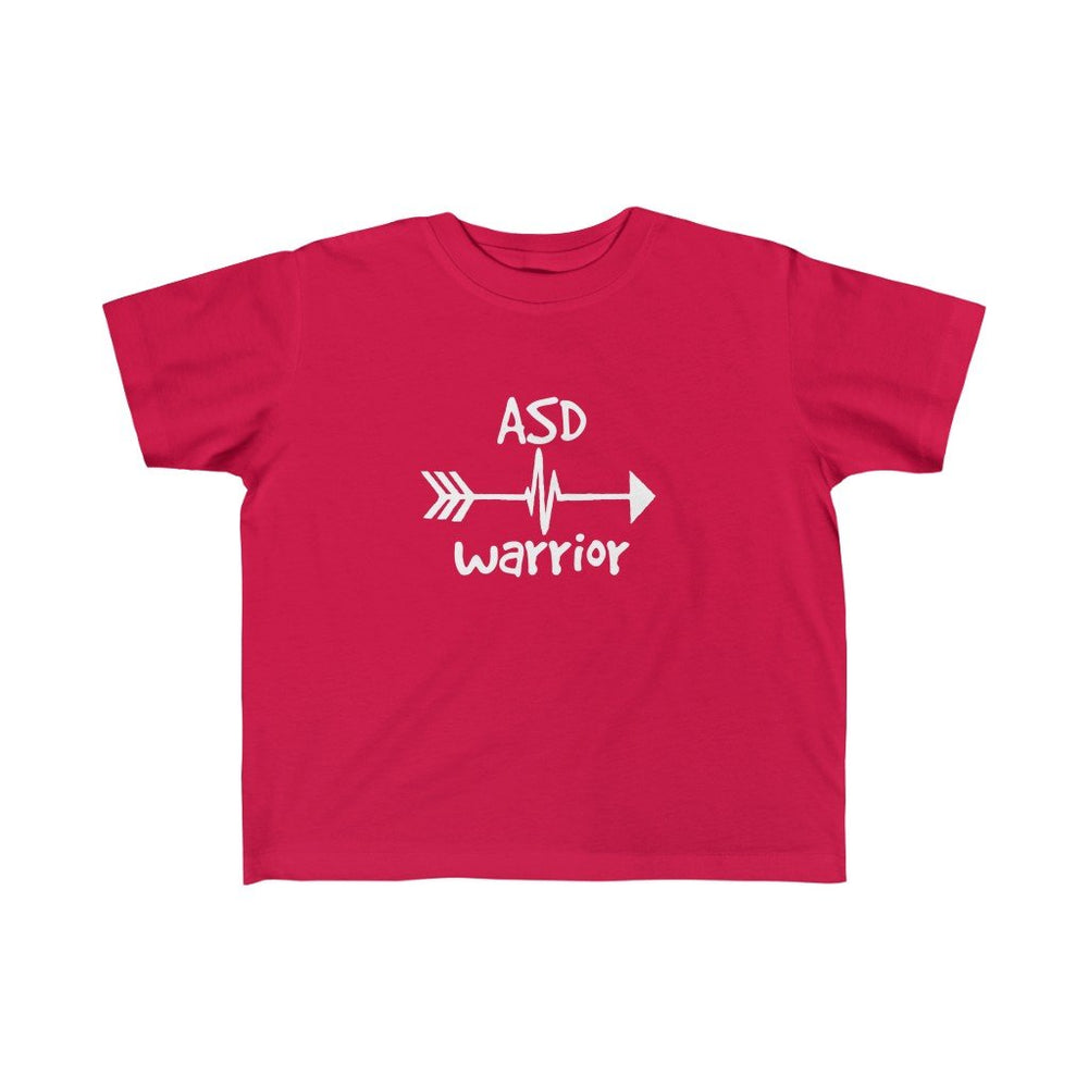 ASD Warrior Toddler Tee - CHD warrior