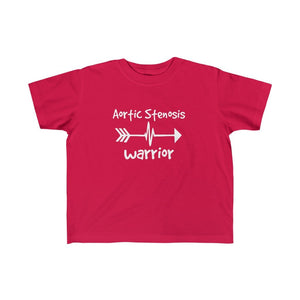 Aortic Stenosis Warrior Toddler Tee