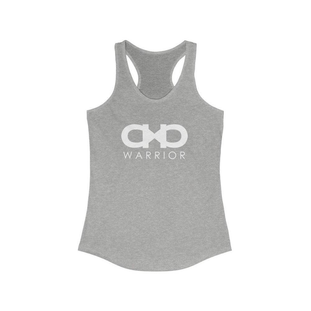 Forever A Warrior Slim Fit Racerback Tank - CHD warrior