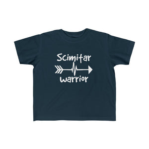 Scimitar Warrior Toddler Tee - CHD warrior