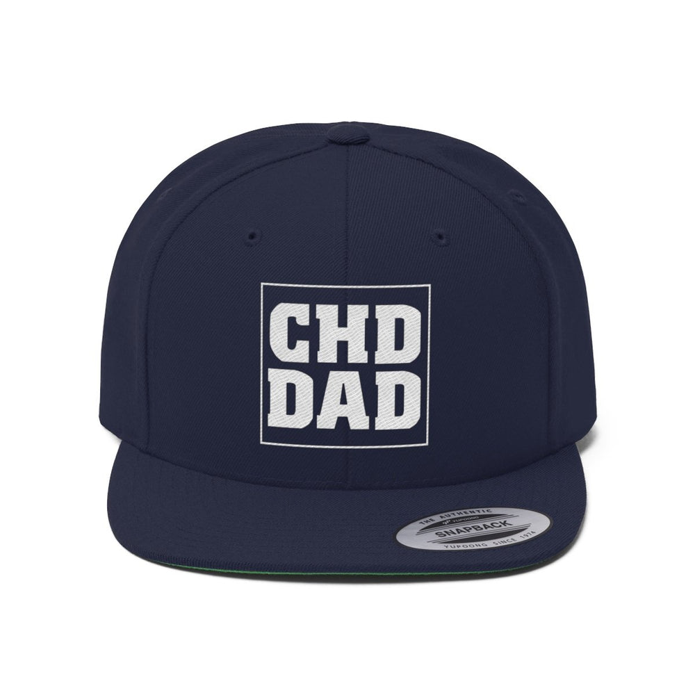 CHD Dad Flat Bill Hat
