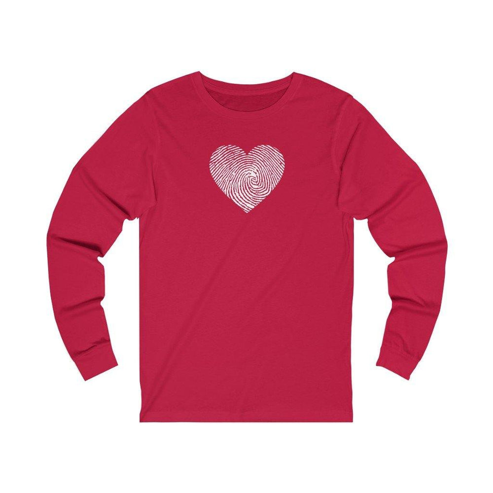 CHD Thumbprint Unisex Long Sleeve Tee