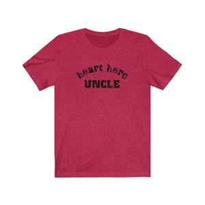 Heart Hero Uncle Unisex Tee