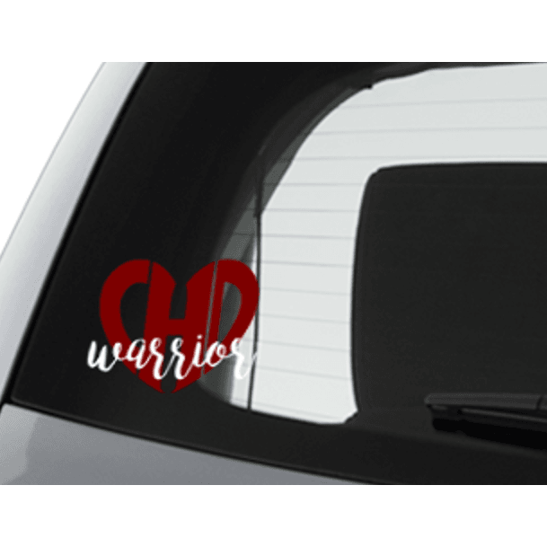 CHD Warrior Car Decal - CHD warrior