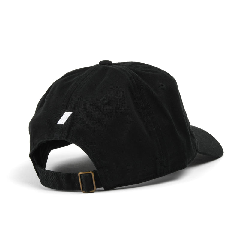 DE FÚT Ten Cap - Black Back | Lifestyle soccer brand.