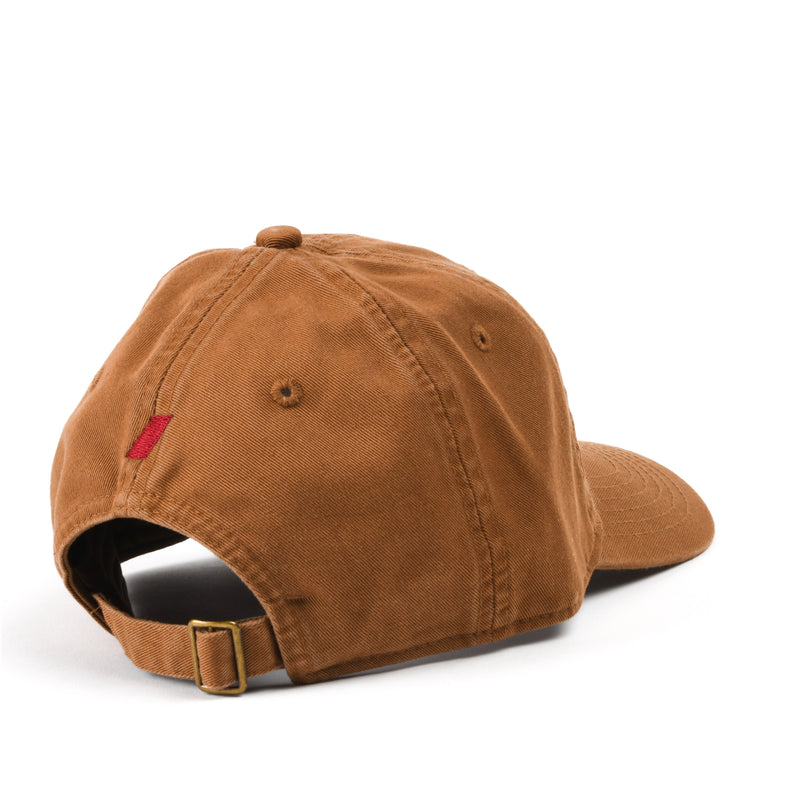 DE FÚT Ten Cap - Café Brown Back | Lifestyle soccer brand.