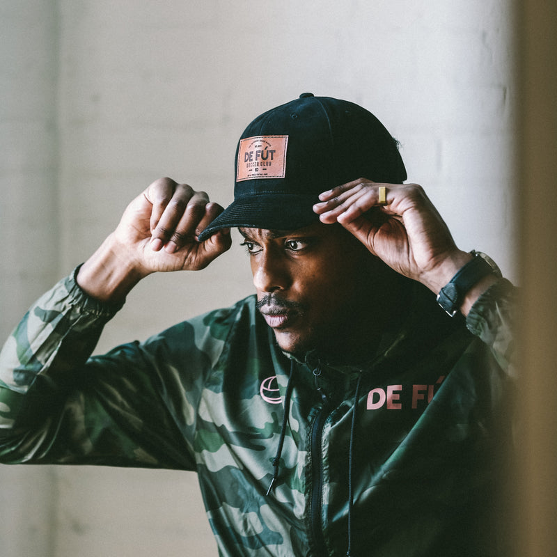 DFSC Leather Patch Cap - Forest Green (25% Off - Ltd. Time)
