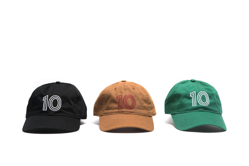 The 10 Cap - Black