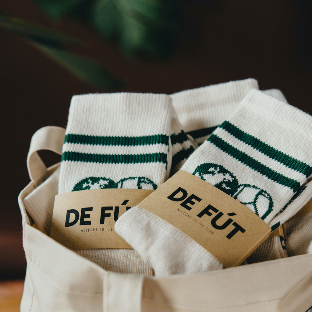 Planet Goals: Retro Crew Socks
