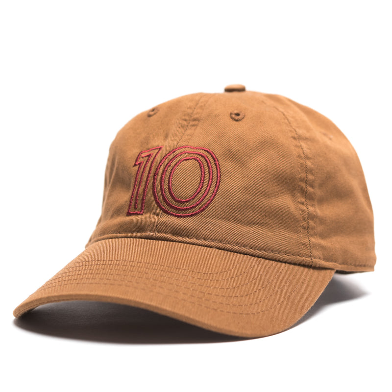 DE FÚT Ten Cap - Café Brown | Lifestyle soccer brand.