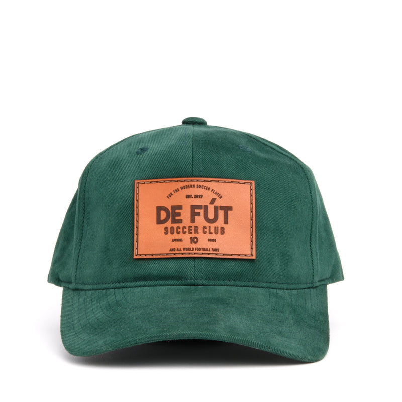 DE FÚT DFSC Leather Patch - Forest Green | Lifestyle soccer brand.