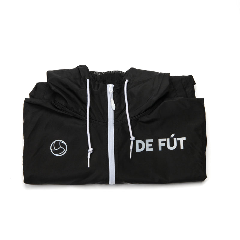 DE FÚT Signature Windbreaker - Black | Iconic look, modern feel.