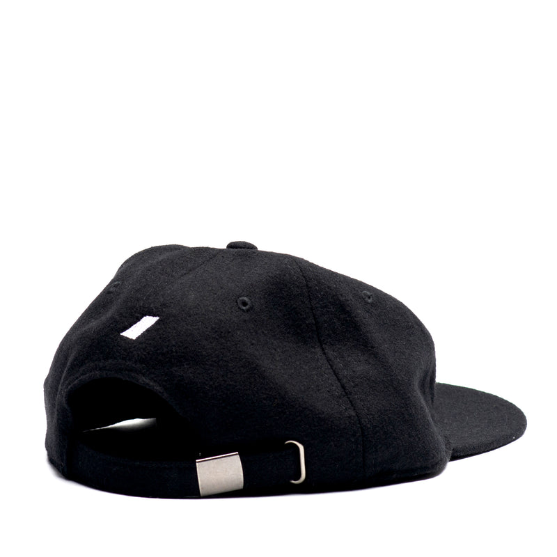 Tiento Chain Stitch Wool Cap - Black (25% Off - Ltd. Time)