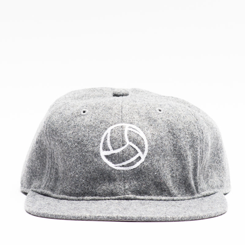 Tiento Chain Stitch Wool Cap - Gray (25% Off - Ltd. Time)
