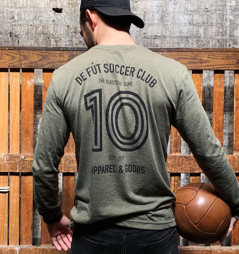 DFSC Long Sleeve - Olive (50% Off - RETIRED KIT)