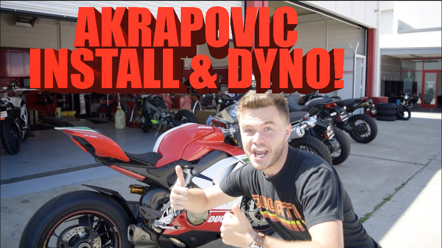 V4 Speciale: Before & after Akrapovic install, with dyno runs!