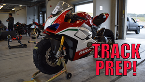 I'm taking my V4 Speciale to the track!! BONUS Ducati Spacer Kit Install!