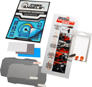 Bundle! Speedo Angels Screen Protectors + Throttle Spacer Kit
