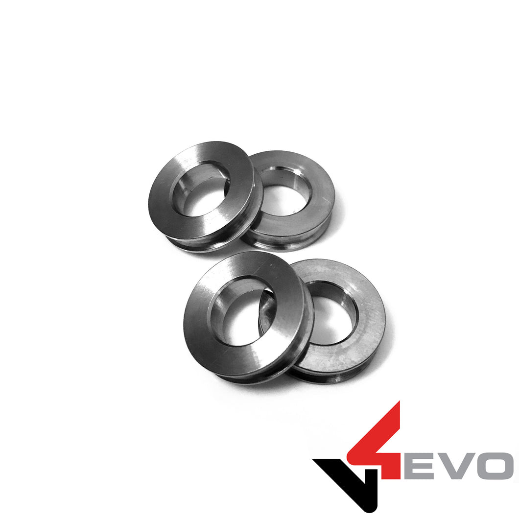 V4Evo Titanium Caliper Spacers - Panigale, Monster, Multistrada, and more!