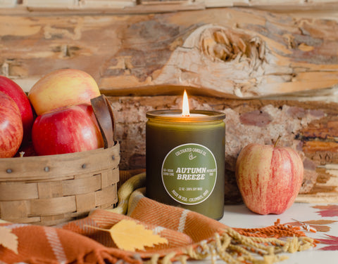 Autumn Breeze Candle at Cultivated Candle Co.