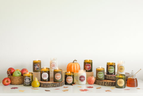 Cultivated Candle Co. Fall Candles