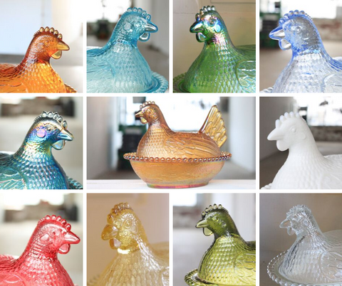 Cultivated Candle Co. Antique Hen Candles