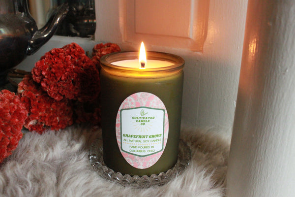 The Grapefruit Grove Candle at Cultivated Candle Co.