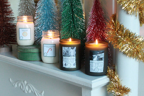 Cultivated Candle Co. Retro Holiday Collection