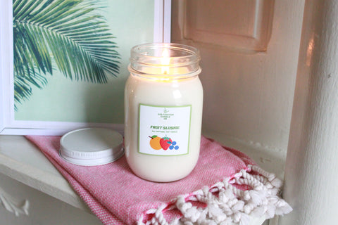fruit slushie candle at cultivated candle co.