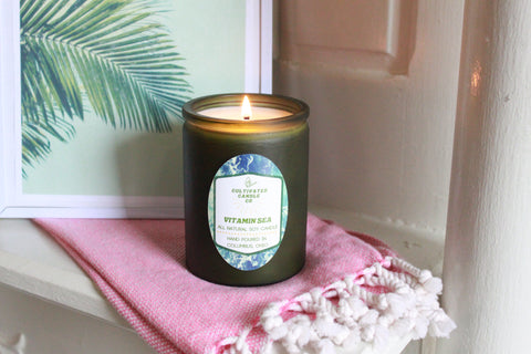 vitamin sea candle